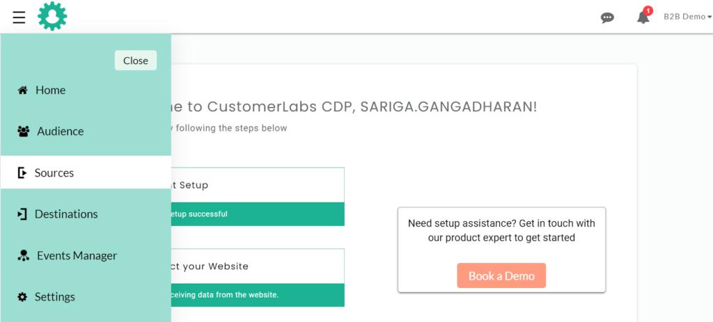 CustomerLabs login